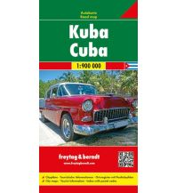 f&b Straßenkarten f&b Autokarte Kuba 1:900.000 Freytag-Berndt und ARTARIA