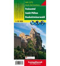 f&b Wanderkarten WK 070 Traisental - St. Pölten - Dunkelsteinerwald, Wanderkarte 1:50.000 Freytag-Berndt und ARTARIA
