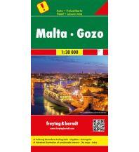 f&b Straßenkarten Malta - Gozo, Autokarte 1:30.000 Freytag-Berndt und ARTARIA