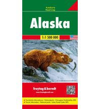 f&b Straßenkarten f&b Autokarte Alaska 1:1,5 Mio Freytag-Berndt und ARTARIA
