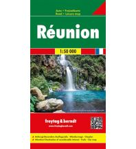 f&b Straßenkarten Réunion, Autokarte 1:50.000 Freytag-Berndt und ARTARIA