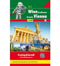 f&b Stadtpläne Wien Großraum Riesenatlas, Städteatlas 1:15.000 Freytag-Berndt und ARTARIA
