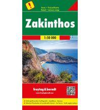 f&b Straßenkarten freytag & berndt Auto + Freizeitkarte Griechenland, Zakinthos, Top 10 Tips 1:50.000 Freytag-Berndt und ARTARIA