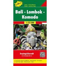 f&b Straßenkarten f&b Autokarte Bali - Lombok - Komodo 1:125.000 Freytag-Berndt und ARTARIA