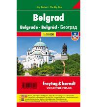 f&b Stadtpläne Belgrad, Stadtplan 1:10.000, City Pocket + The Big Five Freytag-Berndt und ARTARIA