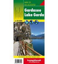Mountainbike-Touren - Mountainbikekarten WKI 01 Gardasee, Wanderkarte 1:50.000 Freytag-Berndt und ARTARIA