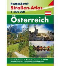f&b Straßenkarten Österreich, Straßen-Atlas 1:200.000 Freytag-Berndt und ARTARIA