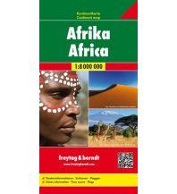 f&b Straßenkarten f&b Kontinentkarte Afrika 1:8 Mio. Freytag-Berndt und ARTARIA