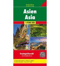f&b Straßenkarten f&b Kontinentkarte Asien 1:9 Mio. Freytag-Berndt und ARTARIA