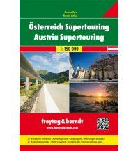 f&b Straßenkarten Österreich Supertouring, Autoatlas 1:150.000 Freytag-Berndt und ARTARIA