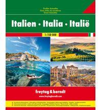 f&b Straßenkarten f&b Großer Autoatlas Italien 1:150.000 Freytag-Berndt und ARTARIA