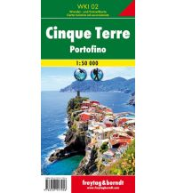 f&b Wanderkarten freytag & berndt Wanderkarte WKI 02, Cinque Terre 1:50.000 Freytag-Berndt und ARTARIA