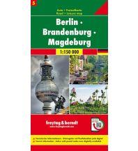 f&b Straßenkarten f&b Auto + Freizeitkarte 5, Berlin - Brandenburg - Magdeburg 1:150.000, Top 10 Tips Freytag-Berndt und ARTARIA