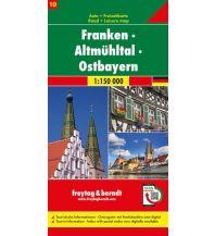 f&b Straßenkarten f&b Auto + Freizeitkarte 10, Franken - Altmühltal - Ostbayern 1:150 000 Top 10 Tips Freytag-Berndt und ARTARIA