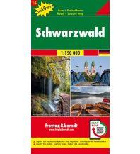 f&b Straßenkarten f&b Auto + Freizeitkarte 15, Schwarzwald 1:150.000, Top 10 Tips Freytag-Berndt und ARTARIA