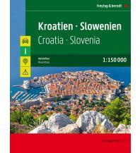 Kroatien - Slowenien, Autoatlas 1:150.000 Freytag-Berndt und ARTARIA