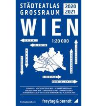 f&b Stadtpläne Wien Großraum Städteatlas 2020/21, Stadtplan 1:20.000 Freytag-Berndt und ARTARIA