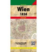 f&b Stadtpläne Wien und dessen Vorstädte 1824 Freytag-Berndt und ARTARIA