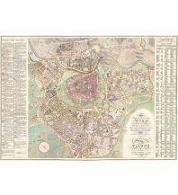 Wien f&b Planokarte in Rolle – Wien und dessen Vorstädten 1824 Freytag-Berndt u. Artaria KG Planokarten