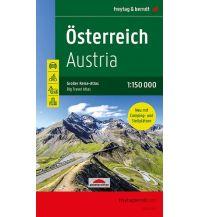 Österreich, Autoatlas 1:150.000, Großer Reise-Atlas mit Camping und Caravaning Freytag-Berndt und ARTARIA