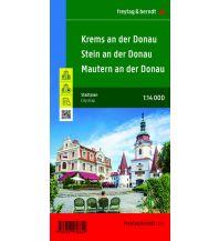 Krems an der Donau mit Stein und Mautern, Stadtplan 1:14.000 Freytag-Berndt und ARTARIA