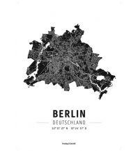 Berlin, Designposter, Hochglanz-Fotopapier Freytag-Berndt u. Artaria KG Planokarten