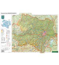 Schreibtischunterlage DUO, Schulhandkarte Niederösterreich 1:450.000 Freytag-Berndt und ARTARIA