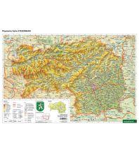 Schreibtischunterlage DUO, Schulhandkarte Steiermark 1:400.000 Freytag-Berndt und ARTARIA