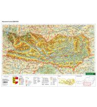Schreibtischunterlage DUO, Schulhandkarte Kärnten 1:350.000 Freytag-Berndt und ARTARIA