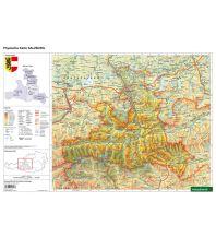 Schreibtischunterlage DUO, Schulhandkarte Salzburg 1:400.000 Freytag-Berndt und ARTARIA