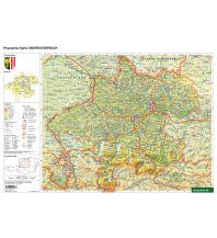 Schreibtischunterlage DUO, Schulhandkarte Oberösterreich 1:400.000 Freytag-Berndt und ARTARIA