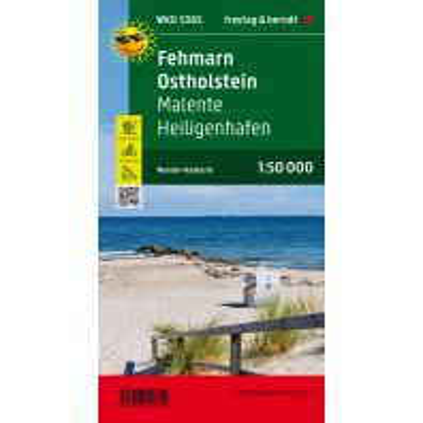 Fehmarn - Ostholstein, Wander + Radkarte 1:50.000 Freytag-Berndt und ARTARIA