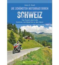 Die schönsten Motorradtouren Schweiz Bruckmann Verlag