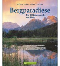 Outdoor Bildbände Bergparadiese - Die 13 Nationalparks der Alpen Bruckmann Verlag