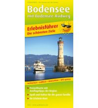 f&b Straßenkarten Bodensee mit Bodensee-Radweg Freytag-Berndt und ARTARIA