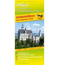 f&b Straßenkarten Allgäu - vom Bodensee zu den Ammergauer Alpen Freytag-Berndt und ARTARIA