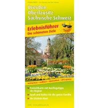 f&b Straßenkarten Dresden, Oberlausitz, Sächsische Schweiz 1:180.000 Freytag-Berndt und ARTARIA
