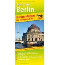 f&b Straßenkarten Rund um Berlin 1:180.000 Freytag-Berndt und ARTARIA