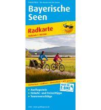 f&b Wanderkarten Bayerische Seen Freytag-Berndt und ARTARIA