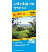 f&b Wanderkarten Mecklenburgische Seenplatte 1:100.000 Freytag-Berndt und ARTARIA