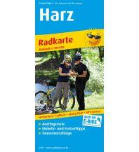 f&b Wanderkarten Harz 1:100.000 Freytag-Berndt und ARTARIA