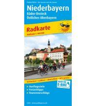 f&b Wanderkarten Niederbayern - Bäder-Dreieck - Östliches Oberbayern Freytag-Berndt und ARTARIA