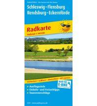 f&b Wanderkarten Schleswig - Flensburg - Rendsberg - Eckernförde 1:100.000 Freytag-Berndt und ARTARIA