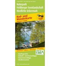 f&b Wanderkarten Naturpark Feldberger Seenlandschaft - Nördliche Uckermark 1:60.000 Freytag-Berndt und ARTARIA
