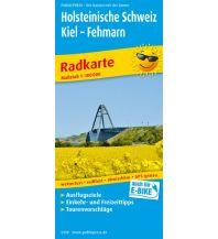 f&b Wanderkarten Holsteinische Schweiz 1:100.000 Freytag-Berndt und ARTARIA