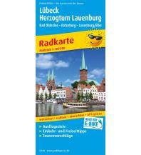 f&b Wanderkarten Lübeck - Herzogtum Lauenburg 1:100.000 Freytag-Berndt und ARTARIA