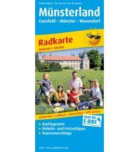 f&b Wanderkarten Münsterland 1:100.000 Freytag-Berndt und ARTARIA