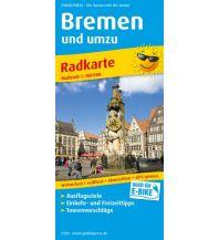 f&b Wanderkarten Bremen und umzu 1:100.000 Freytag-Berndt und ARTARIA