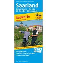f&b Wanderkarten Saarland 1:100.000 Freytag-Berndt und ARTARIA