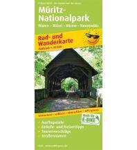 f&b Wanderkarten Müritz-Nationalpark, Waren - Röbel - Mirow - Neustrelitz Freytag-Berndt und ARTARIA